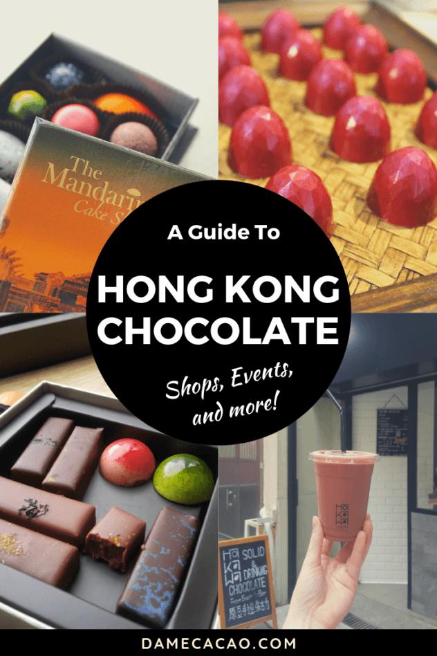 Hong Kong Chocolate pinterest pin 2