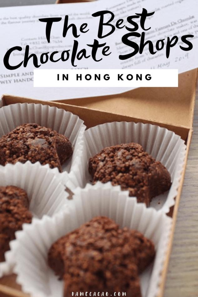 Hong Kong Chocolate pinterest pin 3