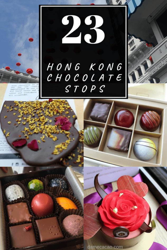 Hong Kong Chocolate pinterest pin 4
