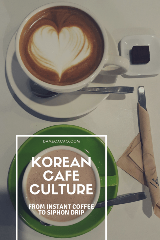 Ever wondered where the abundance of cafes in South Korea came from? Why are there coffee shops on every block? Read all about the rise of Korean coffee and look at some of the drink possibilities in this overview of South Korea's coffee culture! | #coffee #seoul #southkorea #korea #cafe #theme #activities #shop #korean #travel #learn #culture #explore