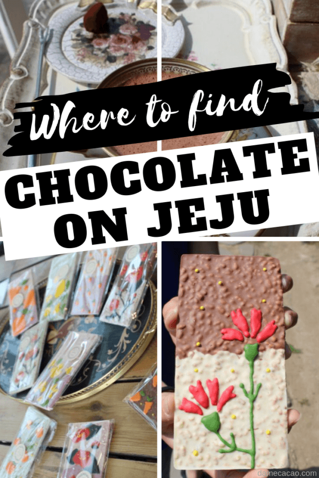 Jeju chocolate guide pinterest pin 1