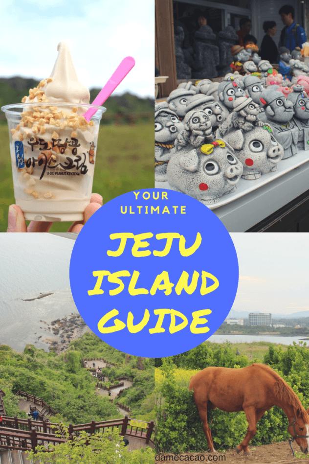 Jeju Island pinterest pin 2