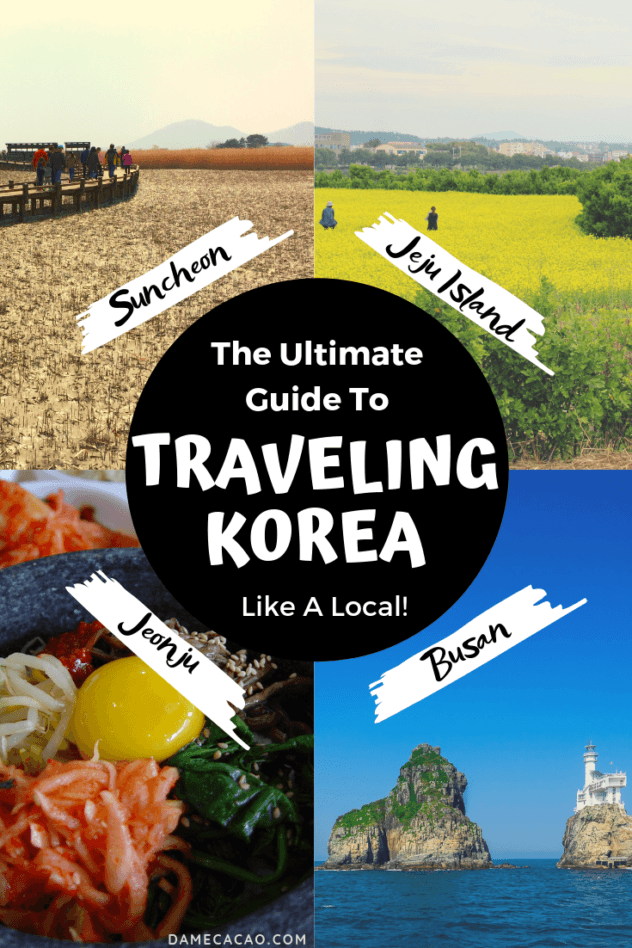 Korea Itinerary pinterest pin 6