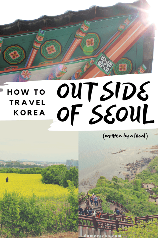 Korea Itinerary pinterest pin 3