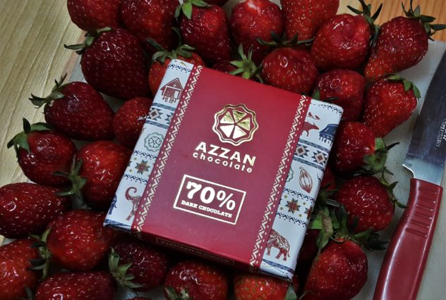 Azzan Vietnam Cocoa Plantation Visit Chocolate Packaging