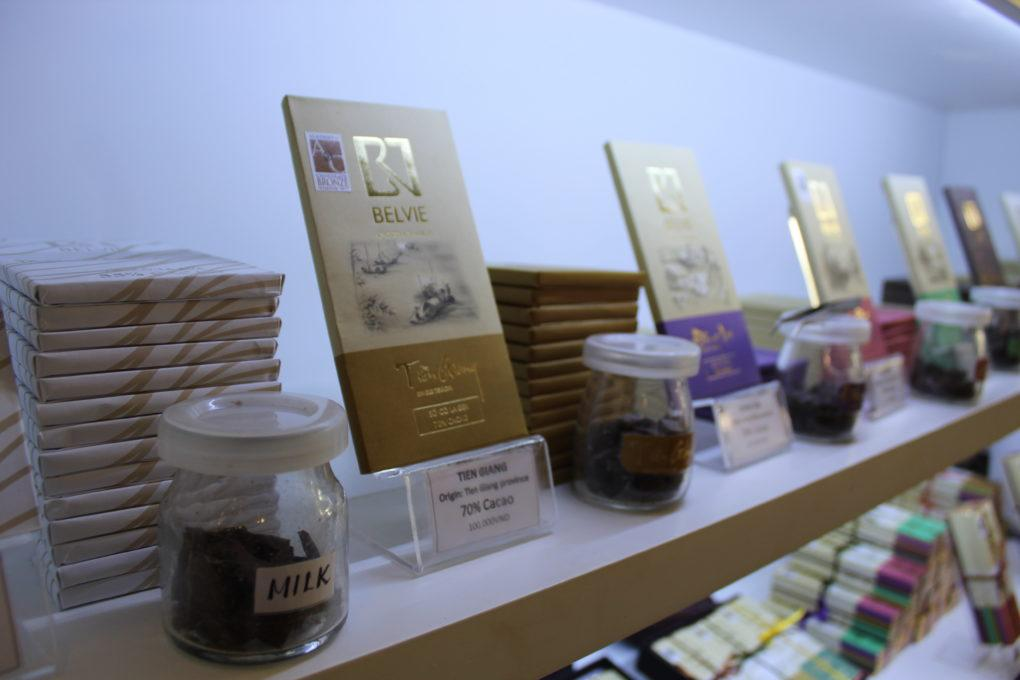 Saigon Vietnam Chocolate Guide Belvie Chocolate Maker Bars