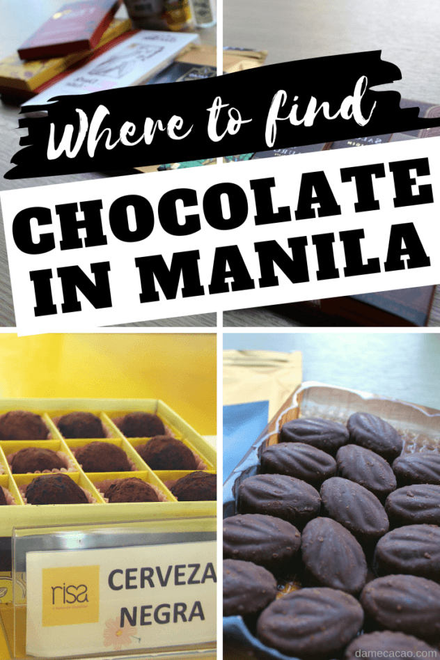 Manila Chocolate pinterest pin 2