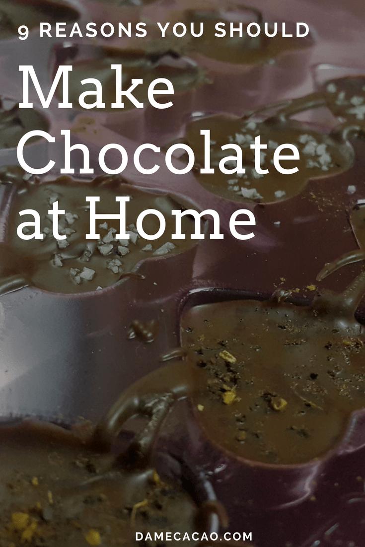 9 Reasons You Should Make Chocolate at Home