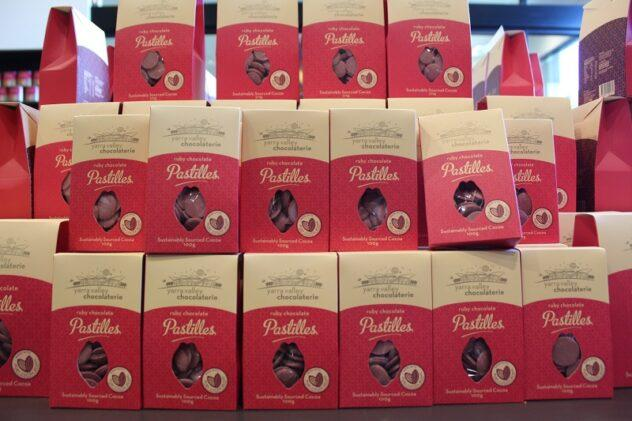 Ruby Chocolate Australia 632x421 - What Is Ruby Chocolate? How It's Made, Ruby Cocoa, & FAQ.