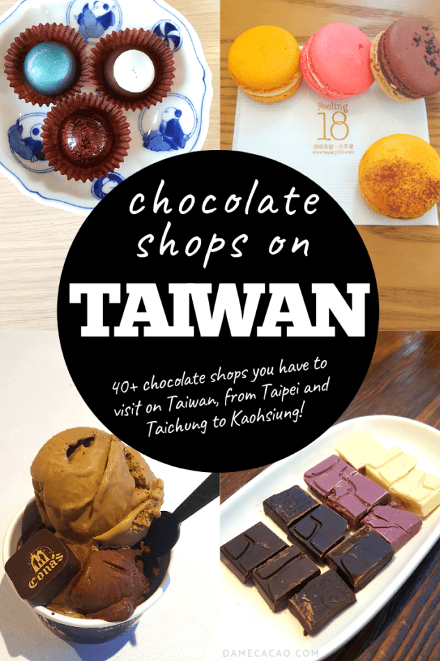 Taiwan chocolate pinterest pin 4