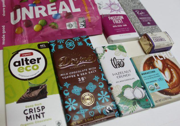 Craft Chocolate Bars from Whole Foods