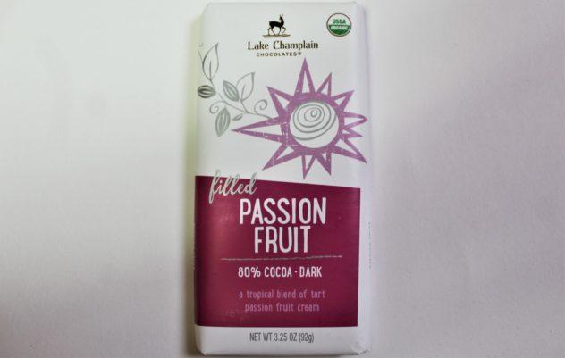 Lake Champlain Passion Fruit Chocolate Bars from Whole Foods