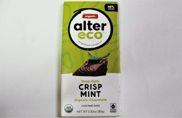 Alter Eco Mint Crunch Craft Chocolate Bars from Whole Foods