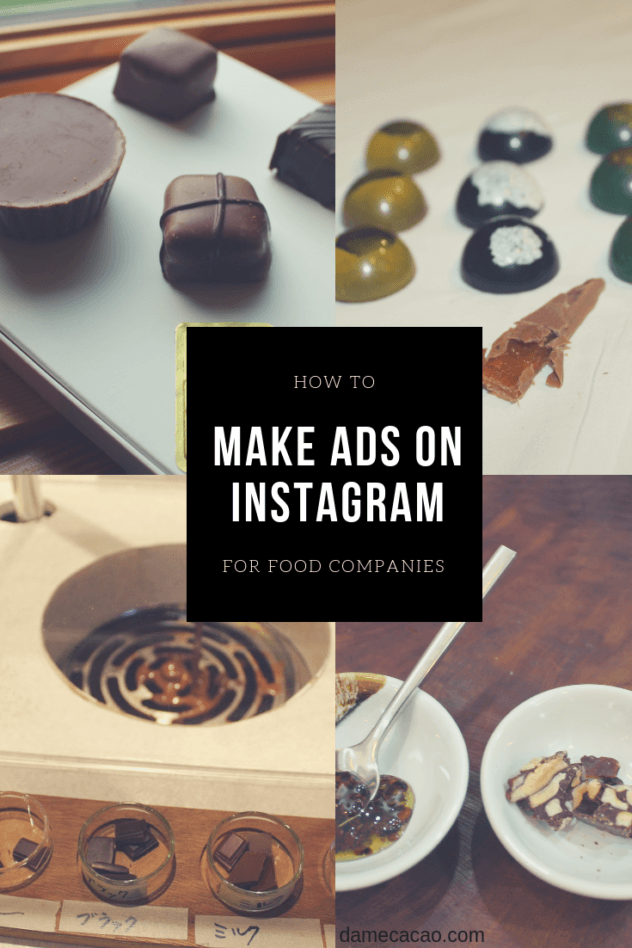 Looking to connect with or find customers through social media? Learn all about running the most effective ads on Instagram for your small food business. | #advertising #social #media #instagram #chocolate #chocolat #basics #cacao #bean #to #bar #craft #food #entrepreneur #tips #improve #how #to #make #making #ad #ads