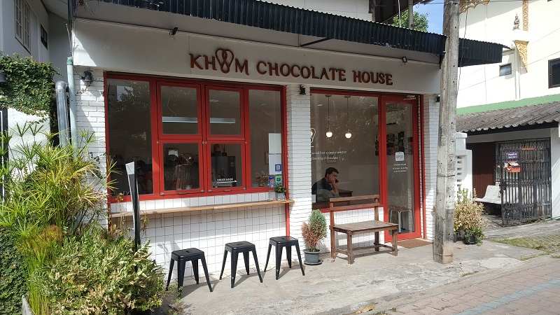Phone 383 - Thailand Chocolate: Chiang Mai Cafe Guide