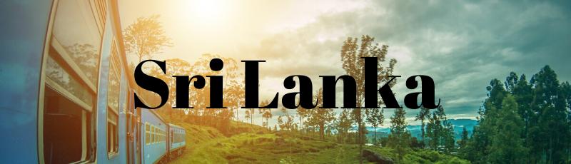 Sri Lanka - Where I've Been