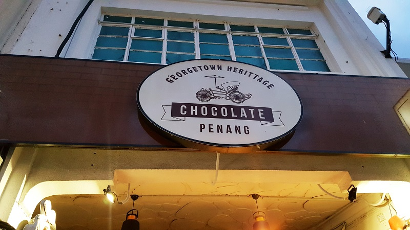 348 - Malaysia Chocolate: Guide to Penang Chocolate Shops