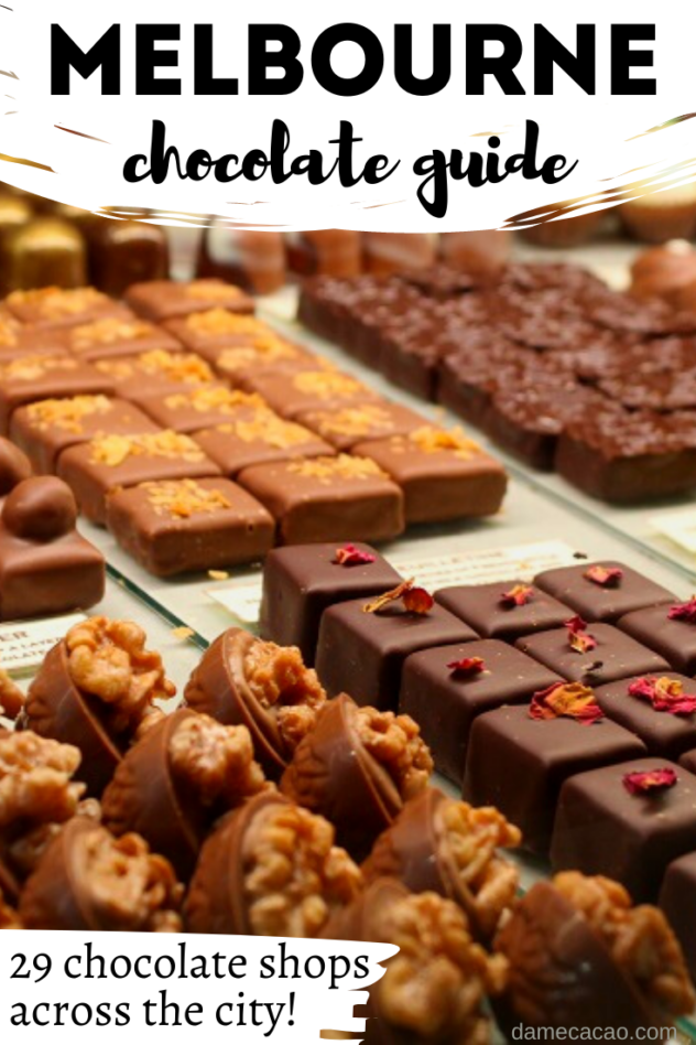 Melbourne Chocolate guide pinterest pin 2